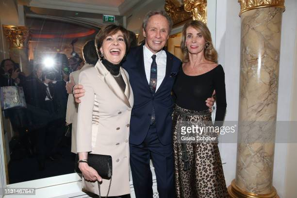 Paola Felix Peter Kraus and his wife Ingrid during the celebration of Peter Kraus' 80th birthday at Schuhbecks Suedtiroler Stuben on March 18 2019 in...