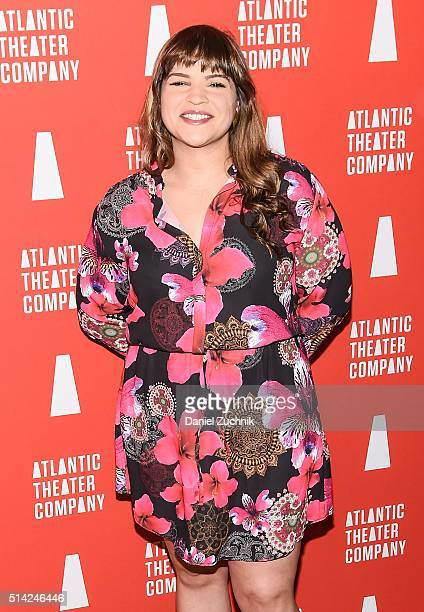 Paola LazaroMunoz attends the 2016 Atlantic Theater Company Actors' Choice Gala at The Pierre Hotel on March 7 2016 in New York City