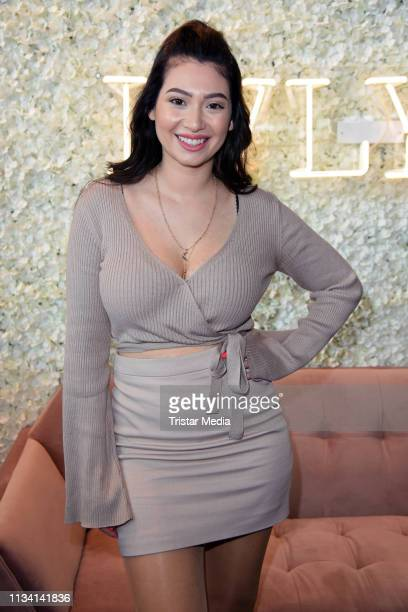 Paola Maria attends the 'GLOW The Beauty Convention' on March 31 2019 in Stuttgart Germany