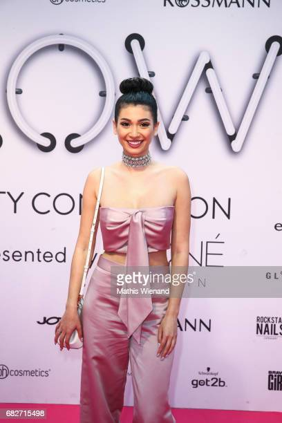 Paola Maria attends the GLOW The Beauty Convention on May 13 2017 in Duesseldorf Germany