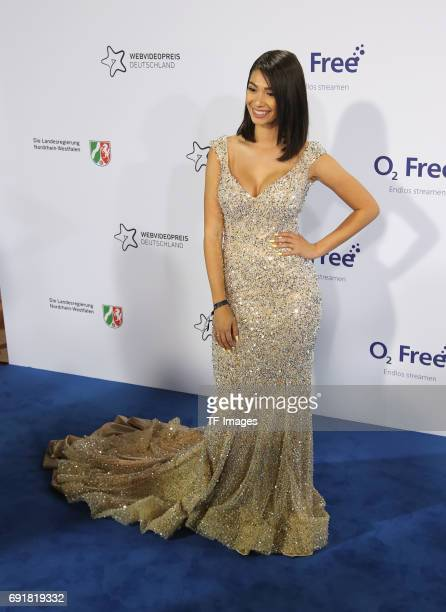 Paola Maria attends the Webvideopreis Deutschland 2017 at ISS Dome on June 1 2017 in Duesseldorf Germany