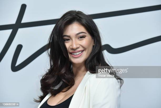 Paola Maria Koslowski during the launch of Beetique by Dagi Bee at Spindler Klatt on November 29 2018 in Berlin Germany