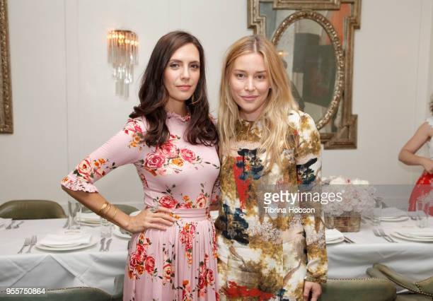 Paola Mendoza and Piper Perabo attend an intimate luncheon with Joy Nash Marti Noxon and Aisha Tyler hosted by AMC in Celebration of their New...