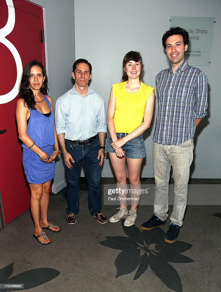 Paola Mendoza, Scott Foundas, Kate Lyn Sheil and Alex Karpovsky attend the Sundance Institute NY Short Film Lab at BAM Rose Cinemas on July 14, 2013 in the Brooklyn borough of New York City.