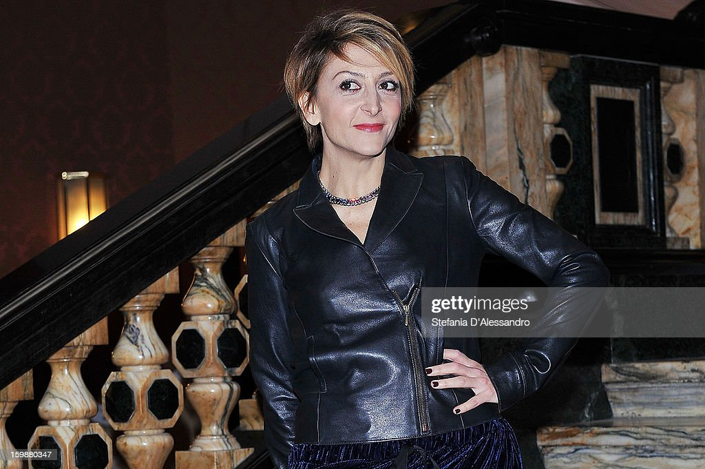 Paola Minaccioni attends 'Pazze di Me' Photocall held at Cinema Odeon on January 22, 2013 in Milan, Italy.