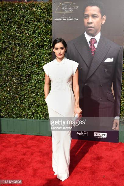 Paola Núñez attends the 47th AFI Life Achievement Award honoring Denzel Washington at Dolby Theatre on June 06 2019 in Hollywood California