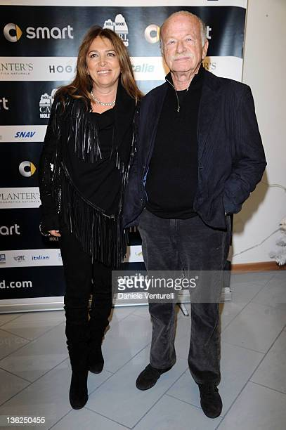 Paola Penzo and Gino Paoli attend the third day of the 16th Annual Capri Hollywood International Film Festival on December 29 2011 in Capri Italy