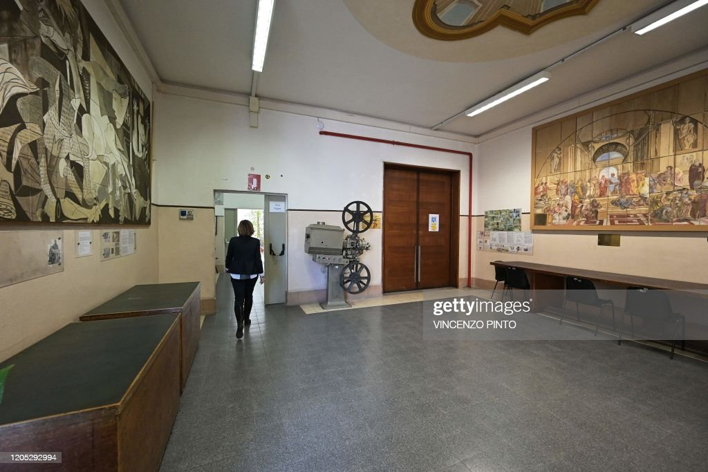 ITALY-ROME-HEALTH-VIRUS : News Photo