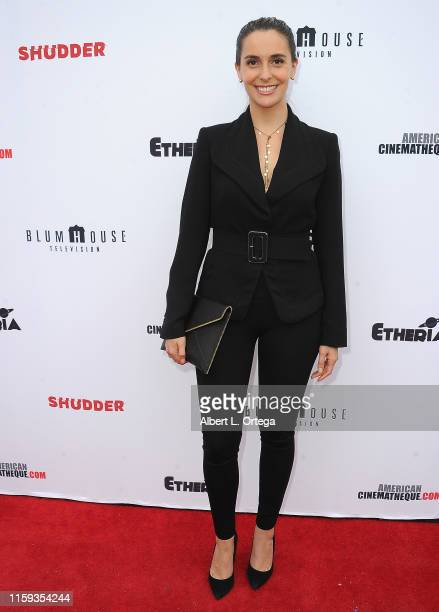 Paola Silva attends the 6th Annual Etheria Film Showcase held at American Cinematheque's Egyptian Theatre on June 29 2019 in Hollywood California
