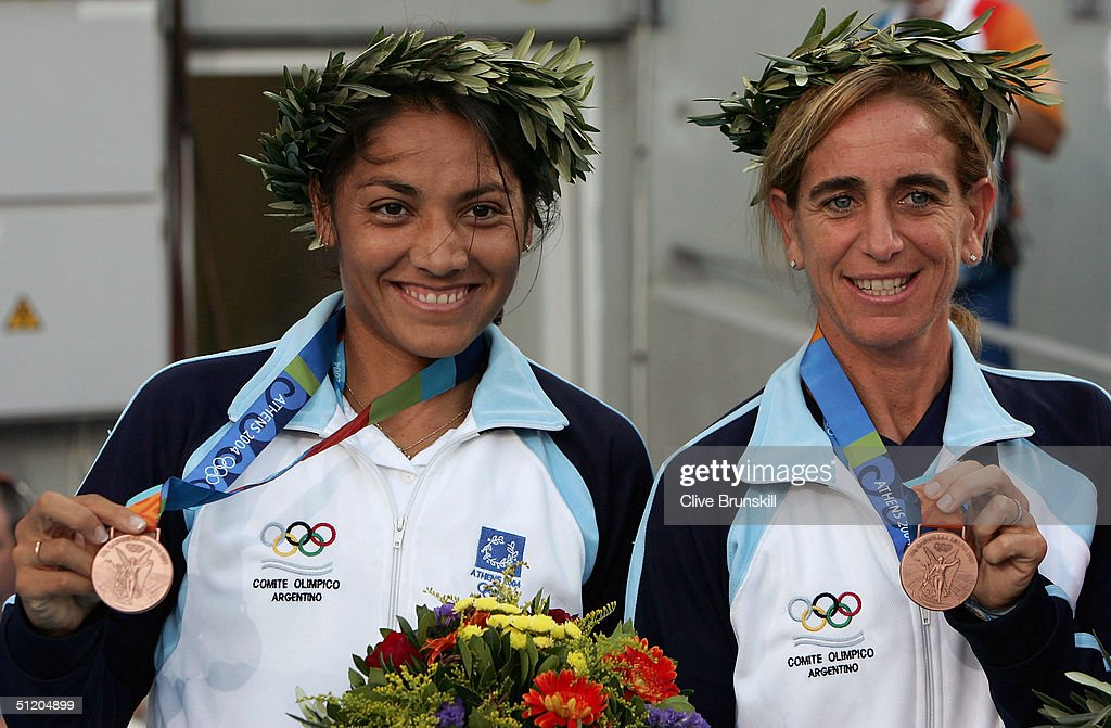Womens Doubles Medal Ceremony : News Photo