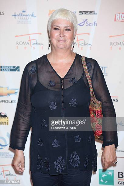 Paola Tedesco attends a photocall during the Roma Fiction Fest at Adriano Cinema on July 5 2010 in Rome Italy