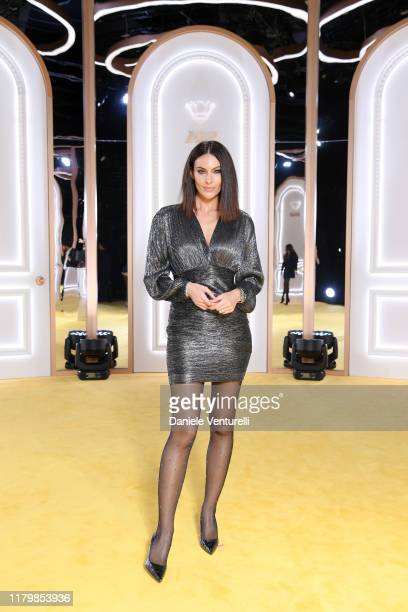 Paola Turani attends the Calzedonia Leg Show 2019 on October 08 2019 in Verona Italy