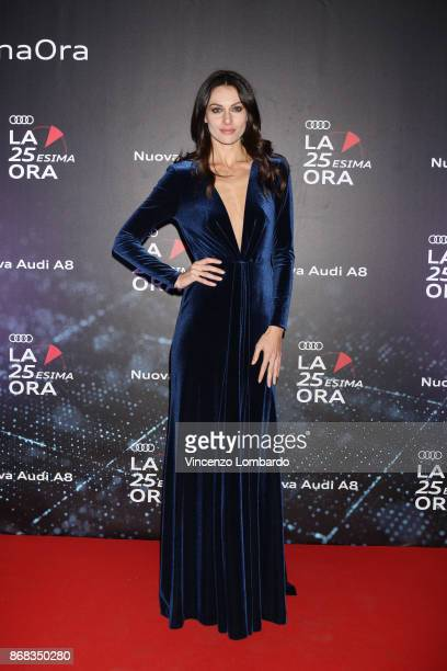 Paola Turani attends the 'La 25esima Ora New Audi A8 Launch' at Unicredit Pavilion on October 30 2017 in Milan Italy