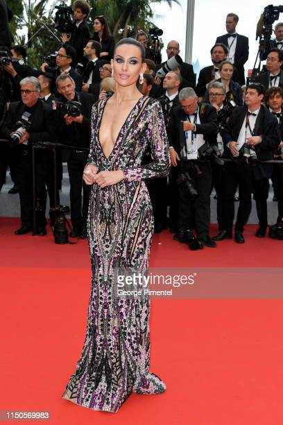 Paola Turani attends the screening of Le Belle Epoque during the 72nd annual Cannes Film Festival on May 20 2019 in Cannes France