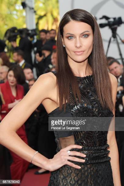 Paola Turani attends the The Beguiled screening during the 70th annual Cannes Film Festival at Palais des Festivals on May 24 2017 in Cannes France