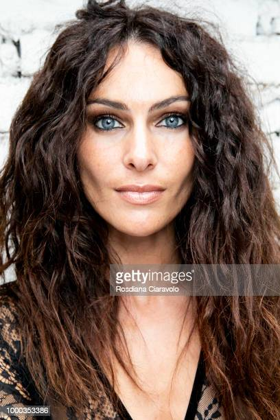 Paola Turani is seen backstage ahead of the Aniye By Fashion Show SS19 on July 16 2018 in Milan Italy