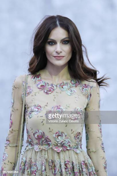Paola Turani poses on June 5 2018 in Milan Italy