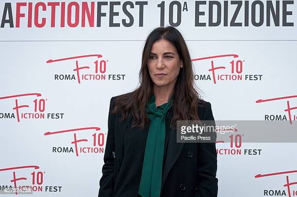 Paola Turci during the photocall of the press conference to present the tenth edition of Roma Fiction Fest