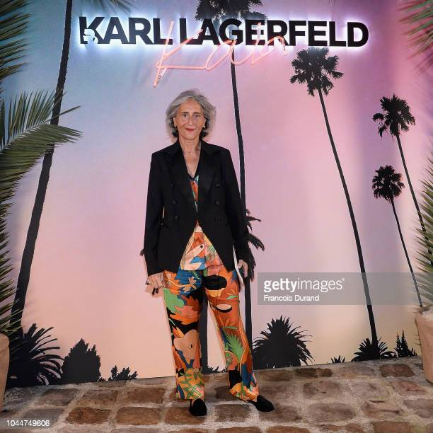 Paola Ventimiglia celebrates the launch of the Karl x Kaia collaboration capsule collection on October 2 2018 in Paris France