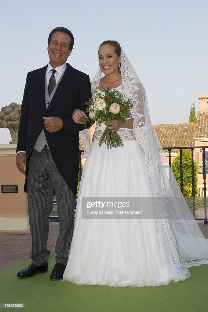 Paola Zobel and Santiago Laborde's Wedding In Sotogrande : News Photo