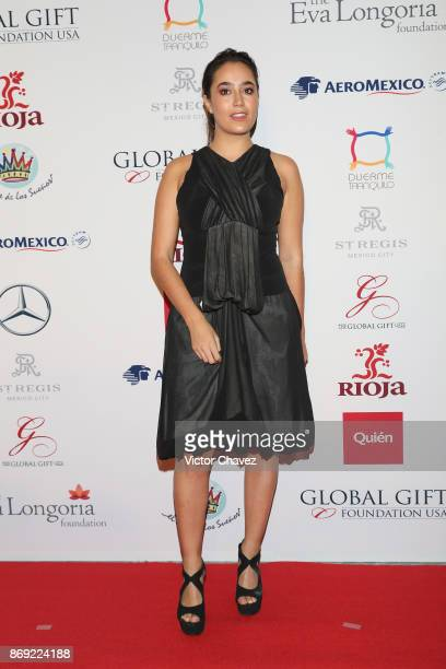 Paola Zurita attends The Global Gift Gala Mexico 2017 at St Regis Hotel on November 1 2017 in Mexico City Mexico