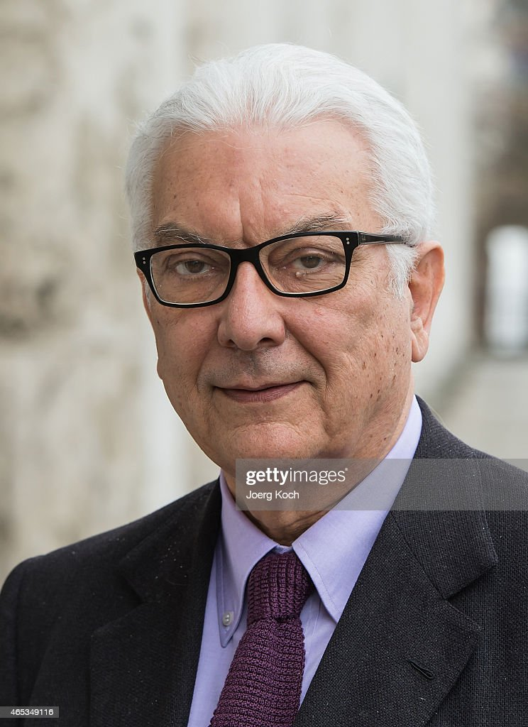 Paolo Baratta, president of the Venice Biennale, attends the 'All the World's Futures' International Art Exhibition Press Conference at Haus der Kunst on March 6, 2015 in Munich, Germany.