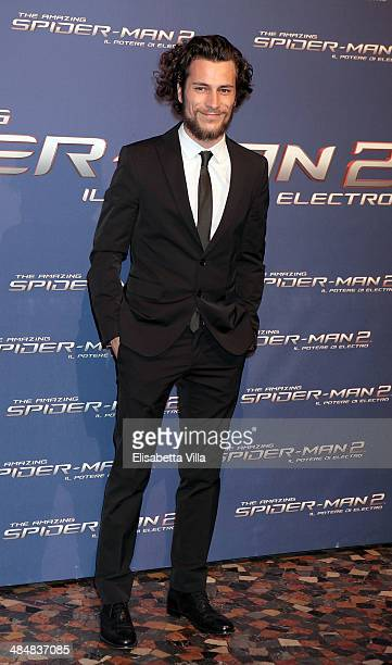 Paolo Bernardini attends 'The Amazing Spider-Man 2: Rise Of Electro' Rome Premiere at The Space Moderno Cinema on April 14, 2014 in Rome, Italy.