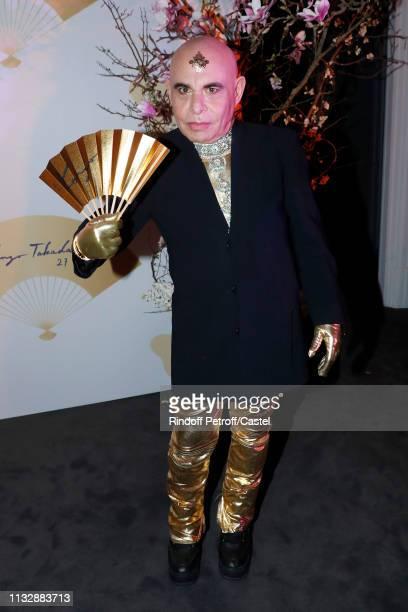 Paolo Calia attends the 80th Kenzo Takada Birthday Party at Pavillon Ledoyen on February 28 2019 in Paris France