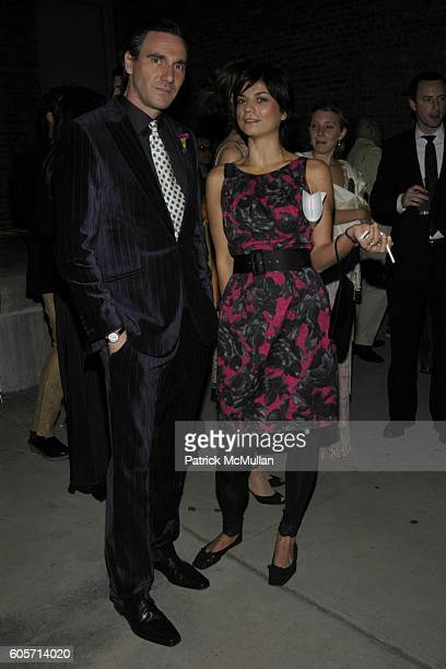 Paolo Canevari and ? attend P.S.1. MOMA 30th Anniversary Homecoming GALA at P.S.1. On October 22, 2006 in New York City.