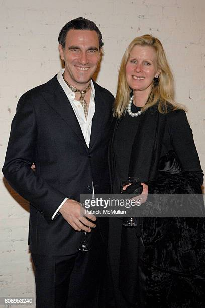 Paolo Canevari and Kathy Fuld attend KLAUS BIESENBACH with SANDRA BRANT and INGRID SISCHY host dinner to honor BARBARA SUKOWA and PS 1Õs: BERLIN...