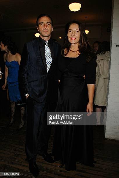 Paolo Canevari and Marina Abramovic attend PS1 MOMA 30th Anniversary Homecoming GALA at PS1 on October 22 2006 in New York City