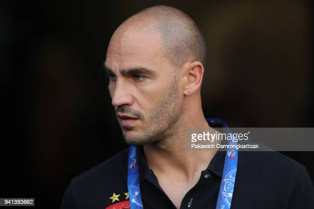 Paolo Cannavaro staff of Guangzhou Evergrande FC during the AFC Champions League Group G match between Buriram United and Guangzhou Evergrande at...