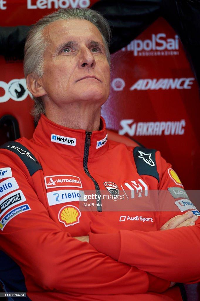 Paolo Ciabatti Ducati Corse Sporting Director During The Red Bull Gp