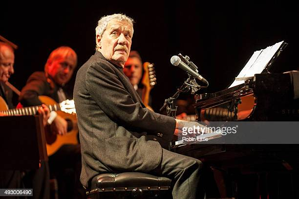 Paolo Conte performs at Barbican Centre on October 16, 2015 in London, England.