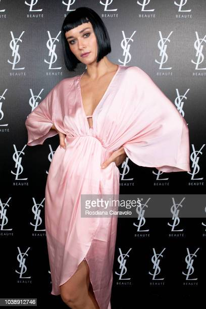 Paolo Crivellini attends 'Ysl Beauty Club Milan' during Milan Fashion Week Spring/Summer 2019 on September 23 2018 in Milan Italy