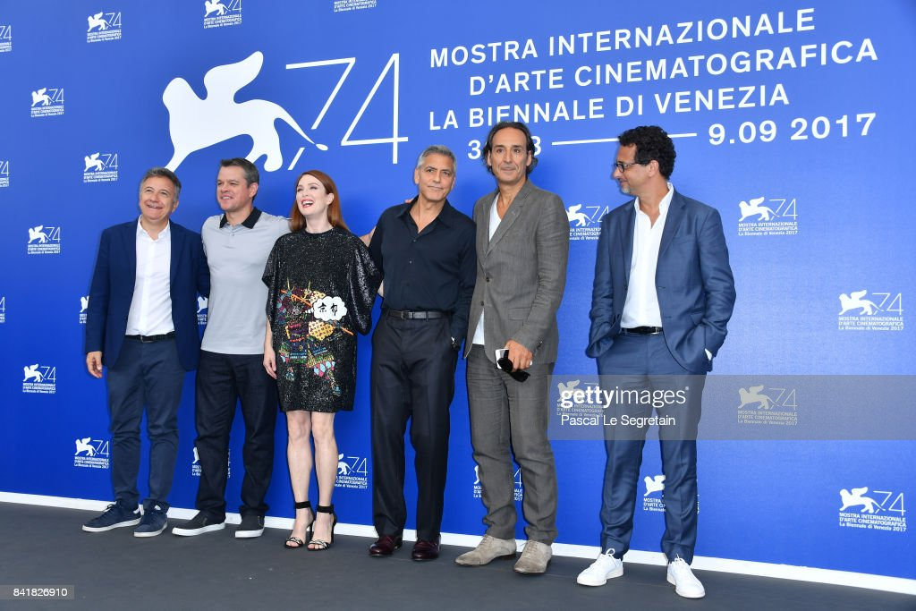 Suburbicon Photocall - 74th Venice Film Festival