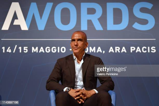 Paolo Di Canio attends during the A-Words at Ara Pacis on May 14, 2019 in Rome, Italy.