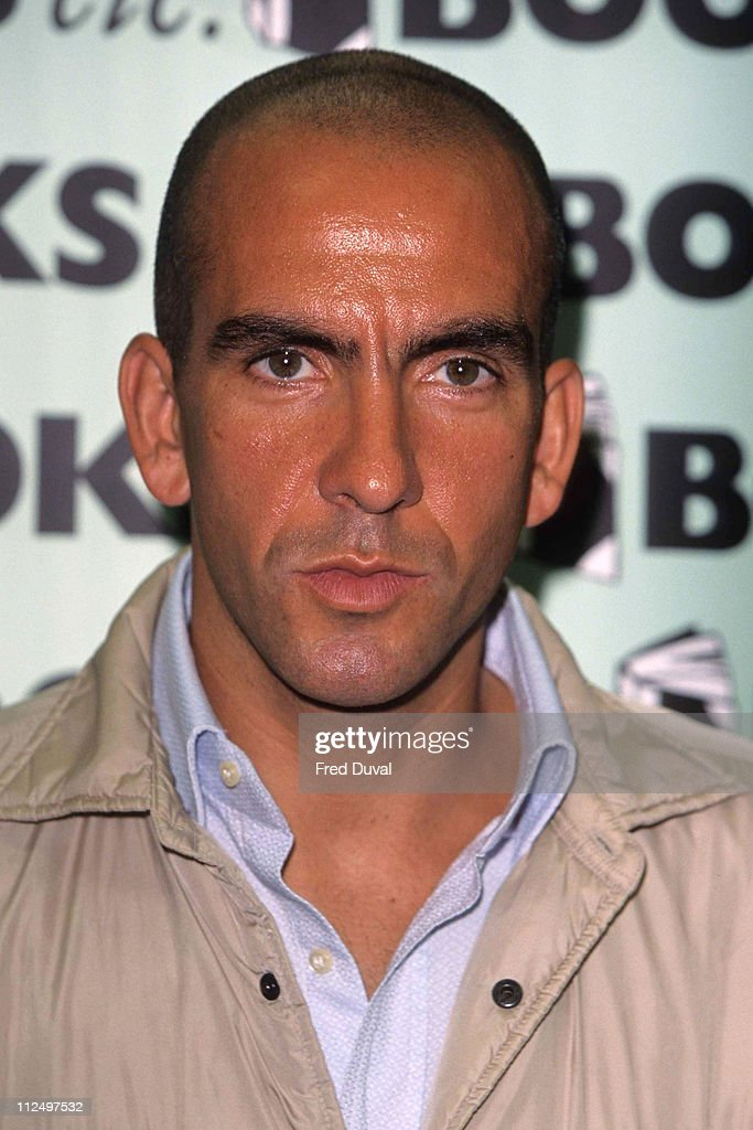 Paolo di Canio Book Signing at Books etc in London