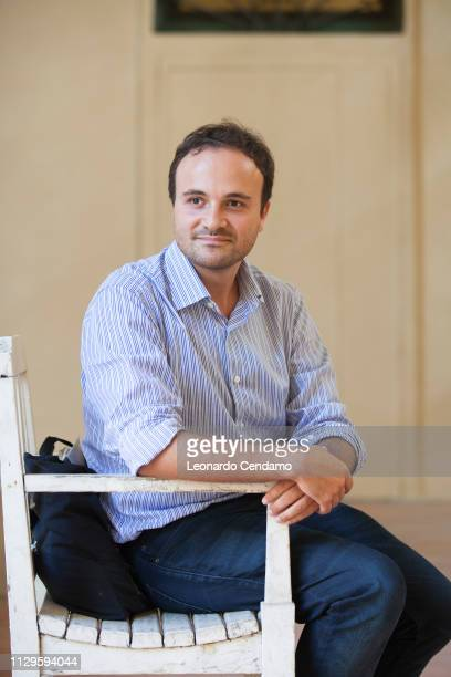 Paolo Di Paolo, Italian writer, Milan, Italy, 7th September 2016.