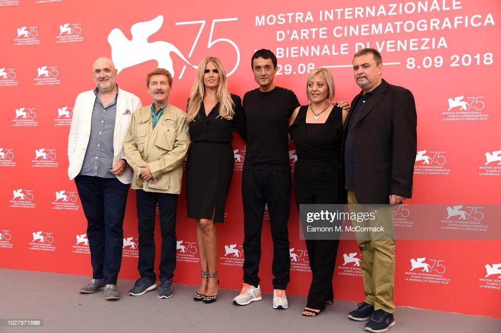 """ITA: """"The Anarchist Banker (Il Banchiere Anarchico)"""" Photocall - 75th Venice Film Festival"""