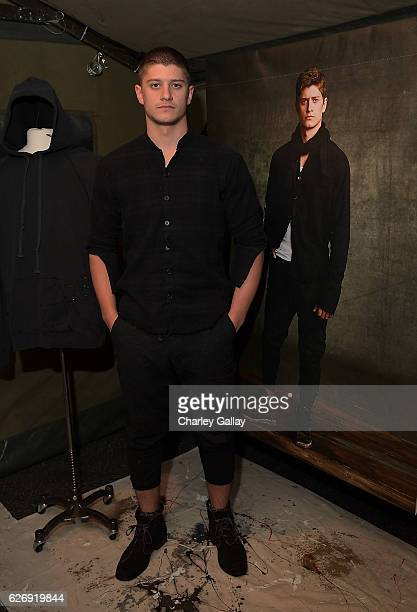 Paolo Gallardo attends the Greg Lauren For Banana Republic Event at Greg Lauren Studio on November 30 2016 in Los Angeles California