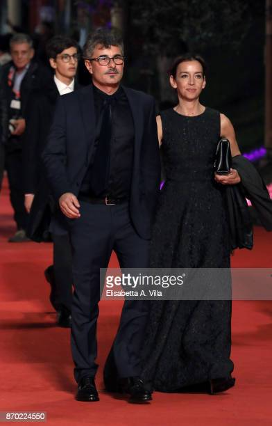 Paolo Genovese and Federica Rizzo walk a red carpet for 'The Place' during the 12th Rome Film Fest at Auditorium Parco Della Musica on November 4...
