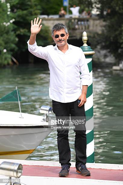 Paolo Genovese arrives at Lido during the 73rd Venice Film Festivalon September 5 2016 in Venice Italy