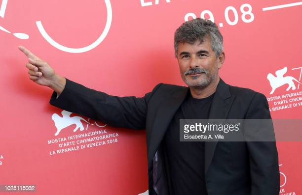 Paolo Genovese attends the Jury photocall during the 75th Venice Film Festival at Sala Casino on August 29 2018 in Venice Italy