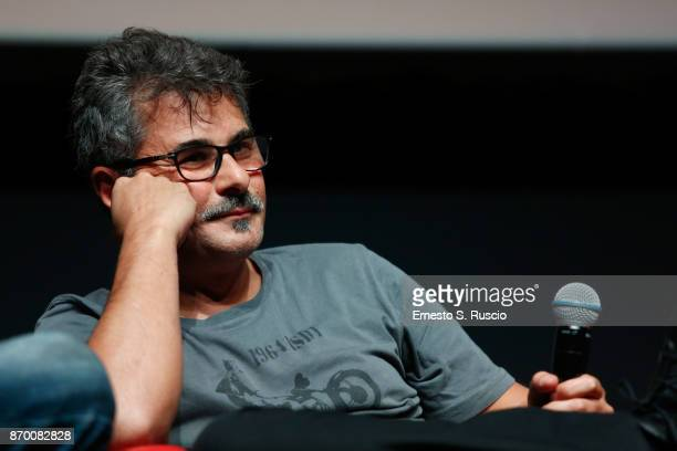 Paolo Genovese attends 'The Place' press conference during the 12th Rome Film Fest at Auditorium Parco Della Musica on November 4 2017 in Rome Italy