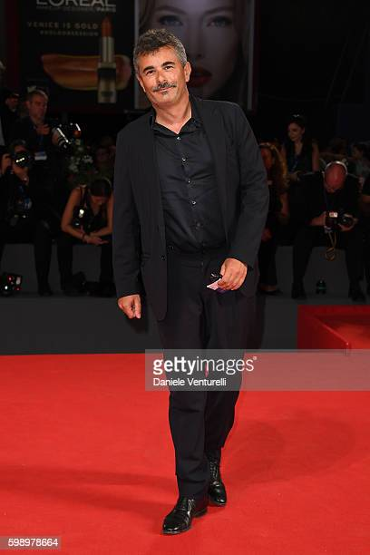Paolo Genovese attends the premiere of 'Brimstone' during the 73rd Venice Film Festival at Sala Grande on September 3 2016 in Venice Italy