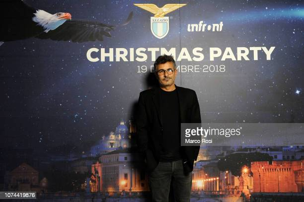Paolo Genovese director attends the SS Lazio Christmas dinner at Spazio Novecento on December 19 2018 in Rome Italy