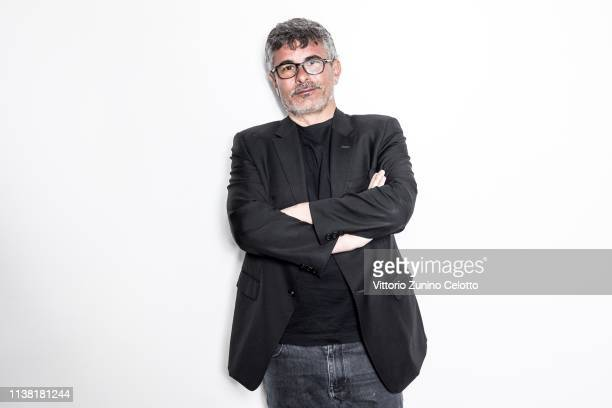 Paolo Genovese poses during Cortinametraggio on March 23 2019 in Cortina d'Ampezzo Italy