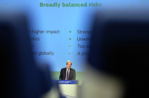 BEL: European Union Economy Commissioner Paolo Gentiloni Presents Spring 2021 Economic Forecast