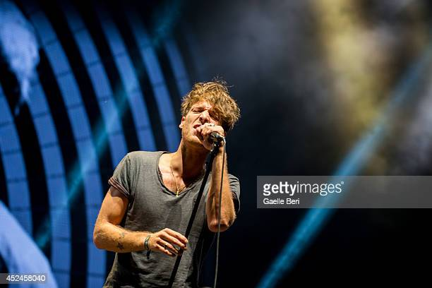 Paolo Giovanni Nutini performs on Day 4 of Benicassim Music Festival on July 20 2014 in Benicasim Spain